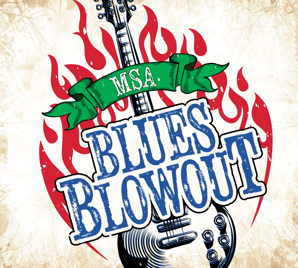 MSA Blues Blowout Event
