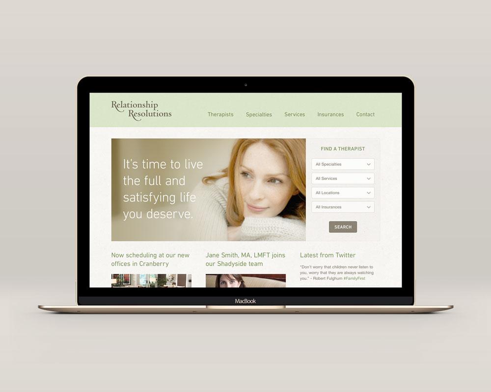 Relationship Resolutions Website