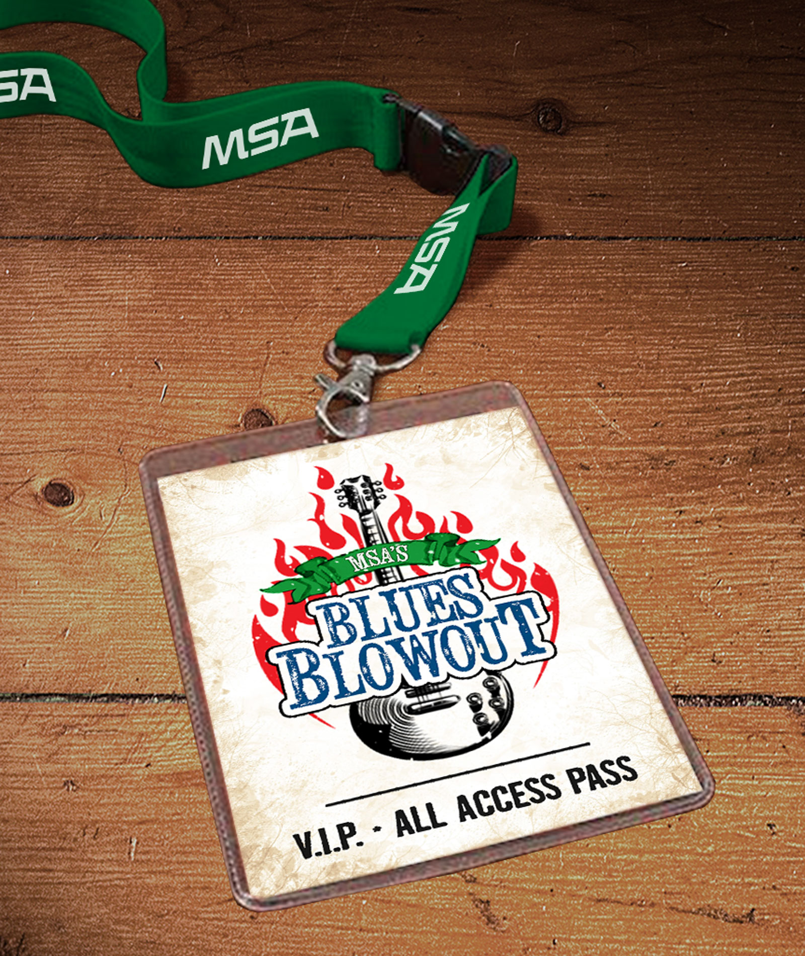 MSA Blues Blowout VIP Pass