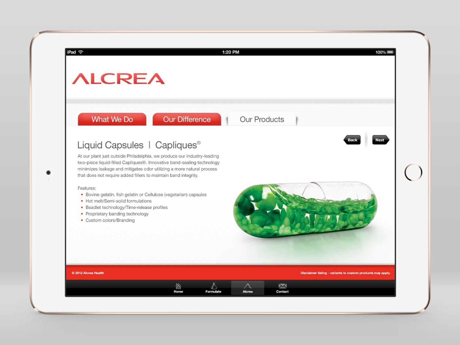 Alcrea Health App